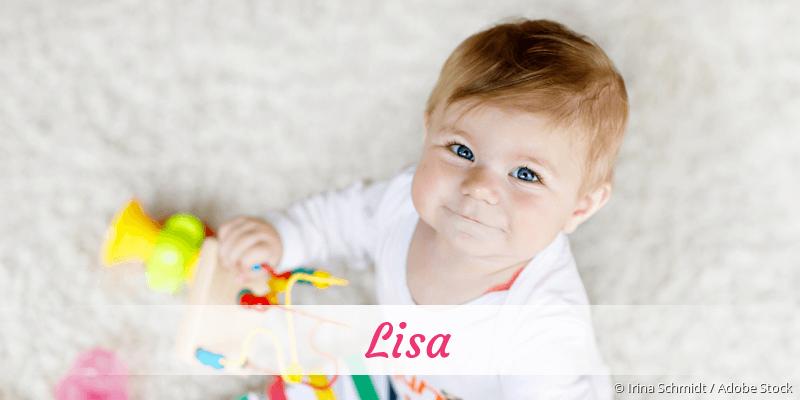 Name Lisa als Bild