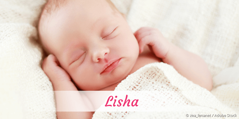 Name Lisha als Bild