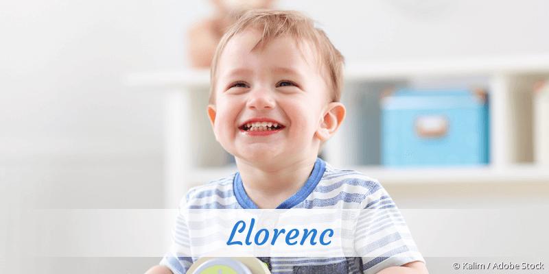 Name Llorenc als Bild
