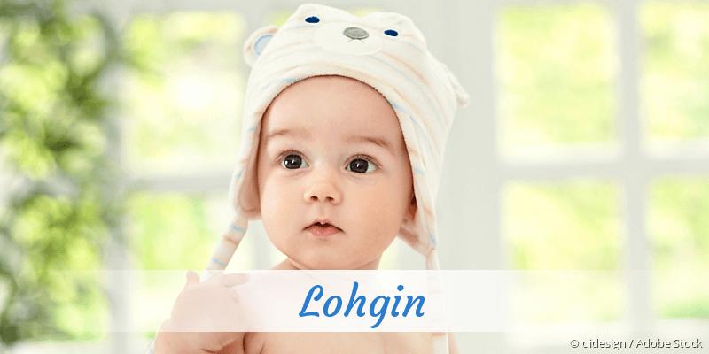 Name Lohgin als Bild