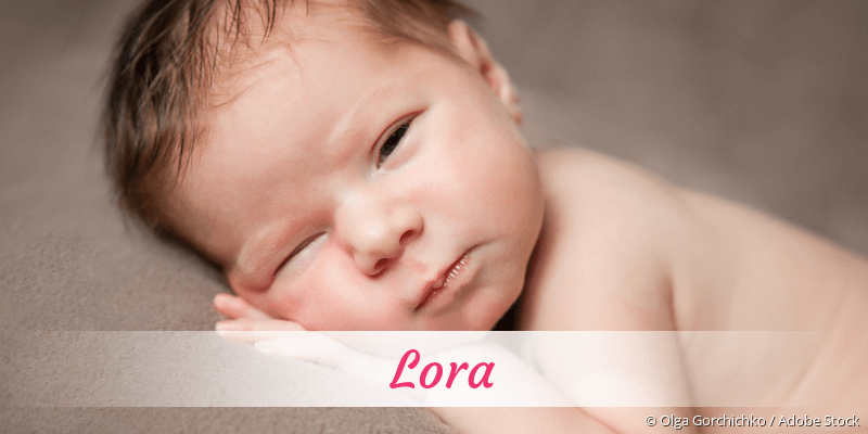 Name Lora als Bild