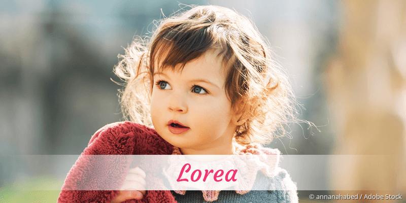 Name Lorea als Bild