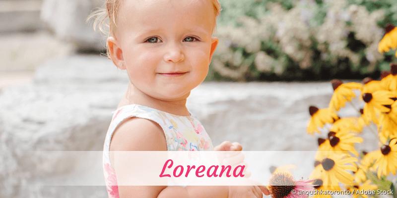 Name Loreana als Bild