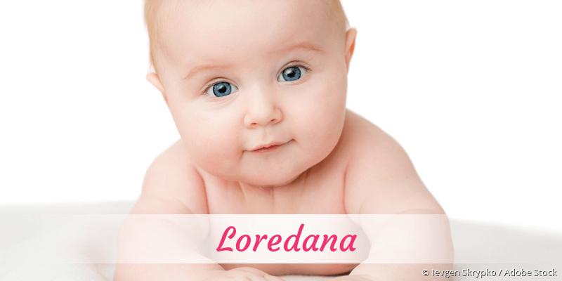 Name Loredana als Bild