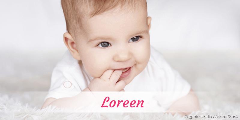 Name Loreen als Bild