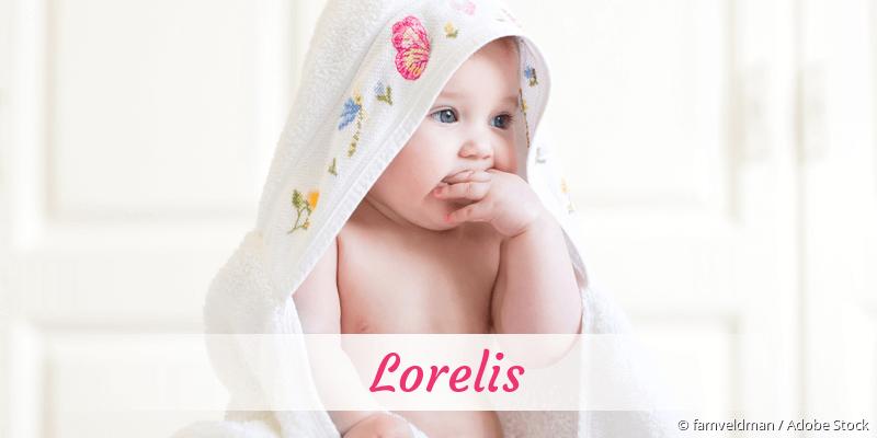 Name Lorelis als Bild