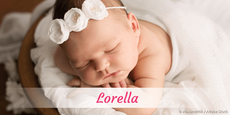Name Lorella als Bild