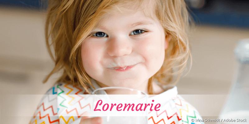 Name Loremarie als Bild