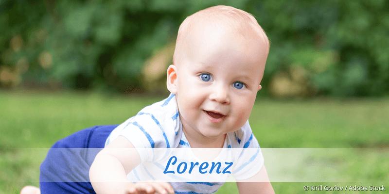 Name Lorenz als Bild