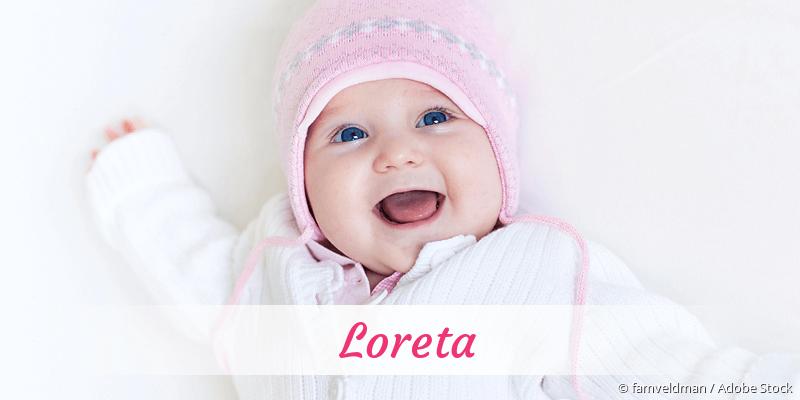 Name Loreta als Bild