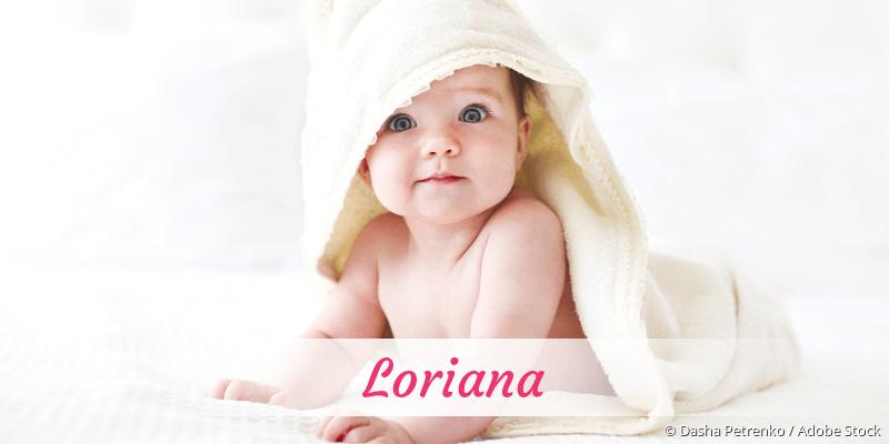 Name Loriana als Bild