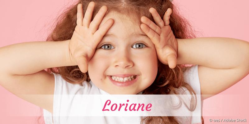 Name Loriane als Bild