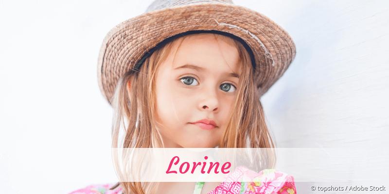 Name Lorine als Bild