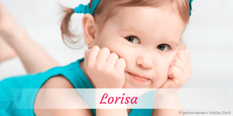 Name Lorisa als Bild