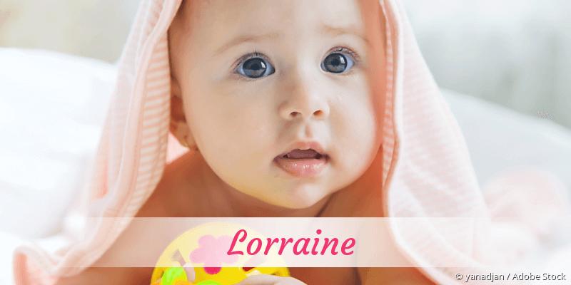 Name Lorraine als Bild