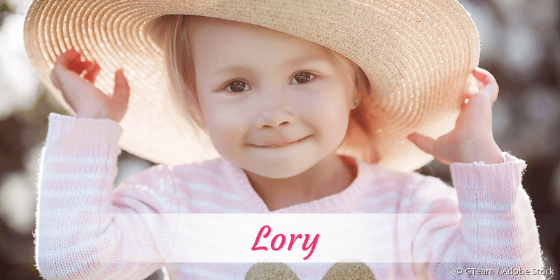 Name Lory als Bild