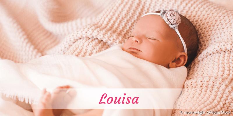 Name Louisa als Bild