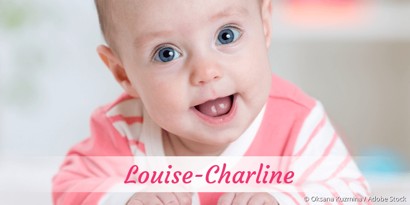 Name Louise-Charline als Bild