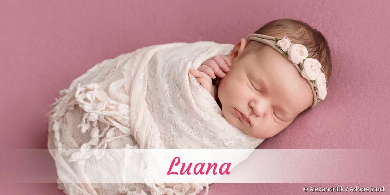 Name Luana als Bild