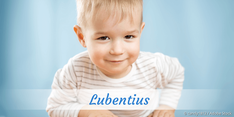 Name Lubentius als Bild