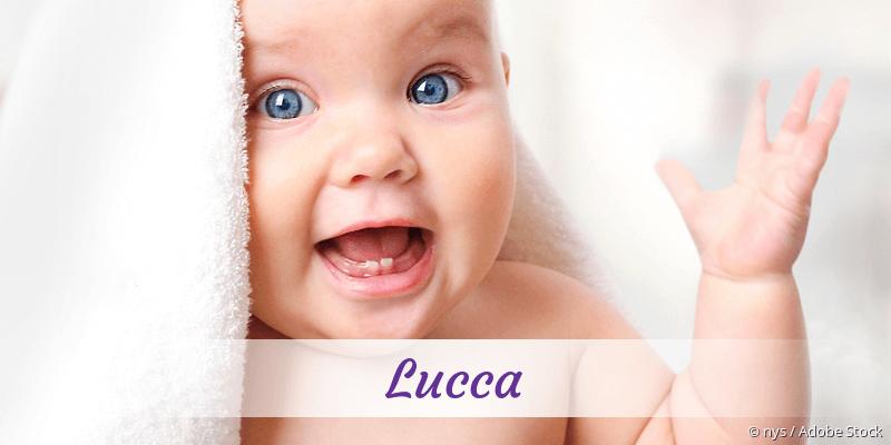 Name Lucca als Bild