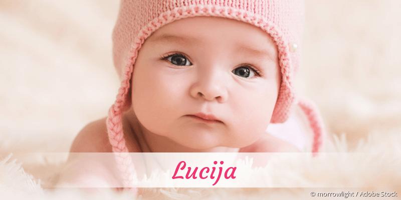 Name Lucija als Bild