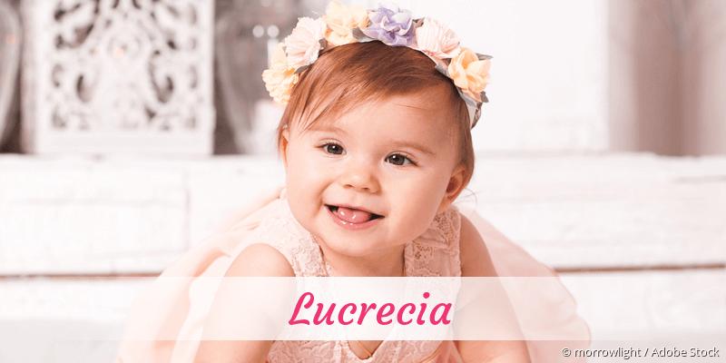 Name Lucrecia als Bild