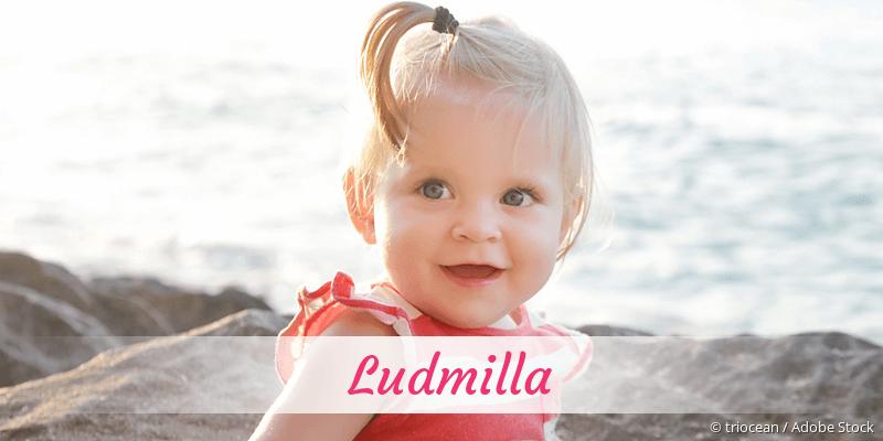 Name Ludmilla als Bild