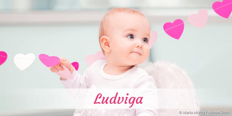 Name Ludviga als Bild