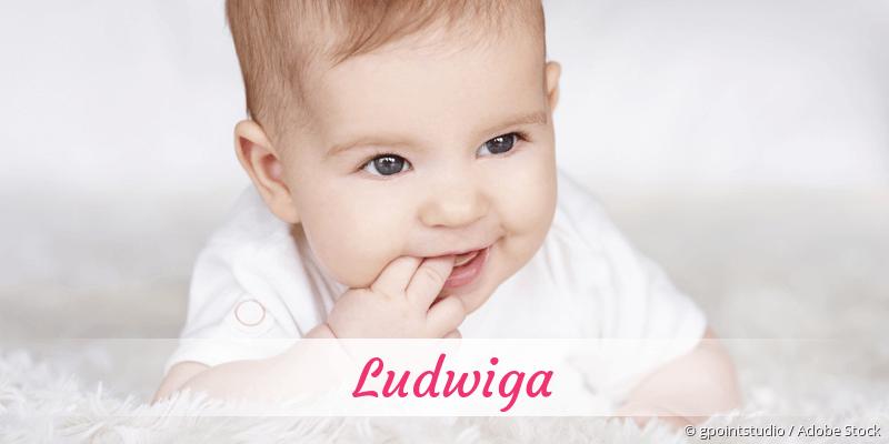 Name Ludwiga als Bild