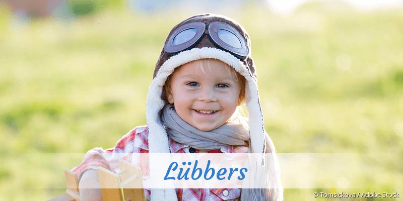 Name Lübbers als Bild