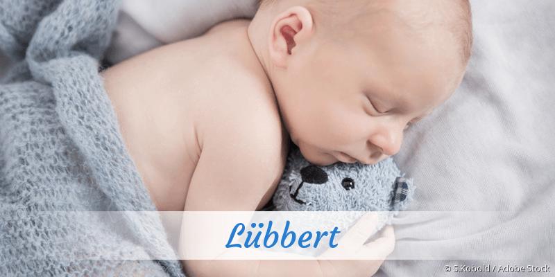 Name Lübbert als Bild