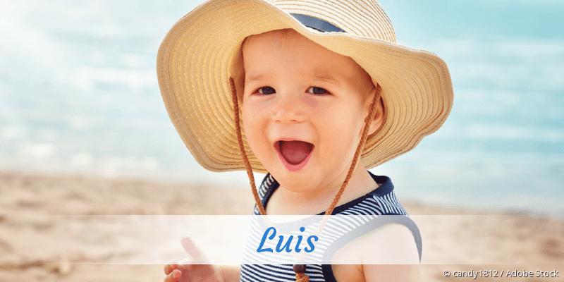 Name Luis als Bild