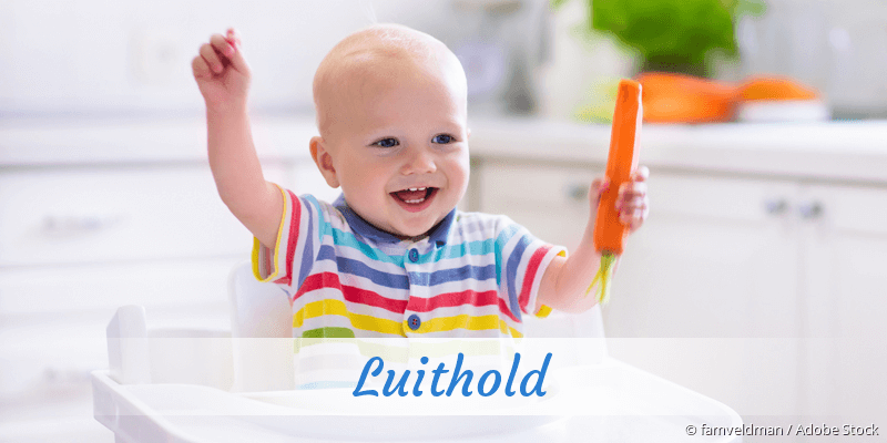 Name Luithold als Bild