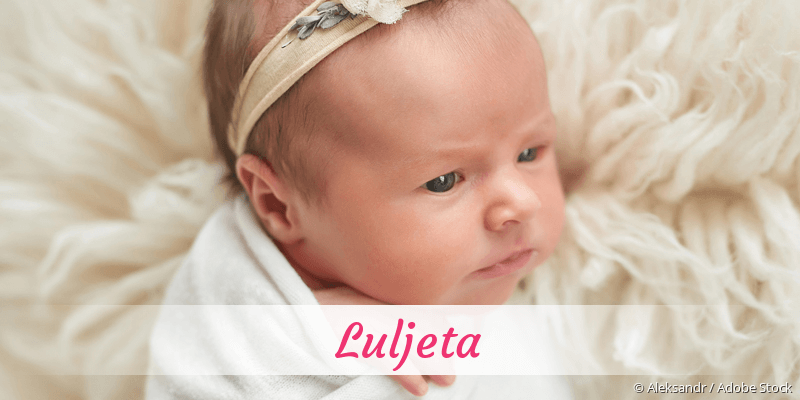Name Luljeta als Bild