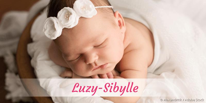 Name Luzy-Sibylle als Bild