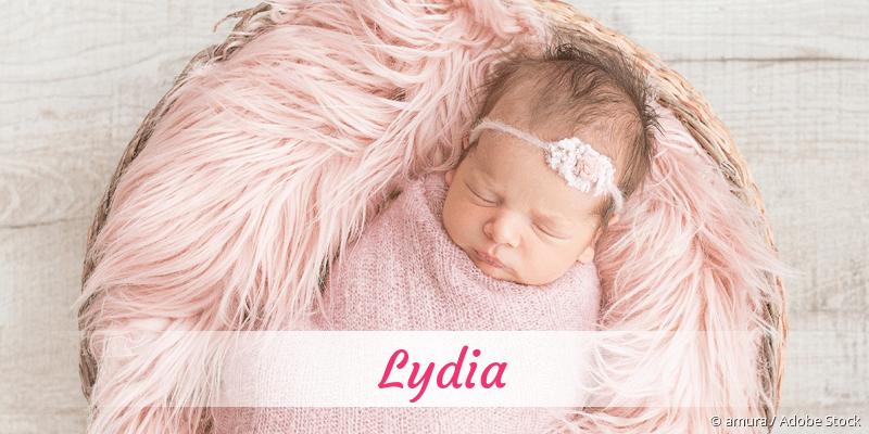 Name Lydia als Bild