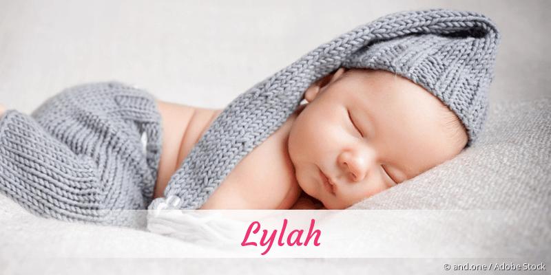 Name Lylah als Bild