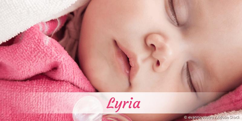 Name Lyria als Bild