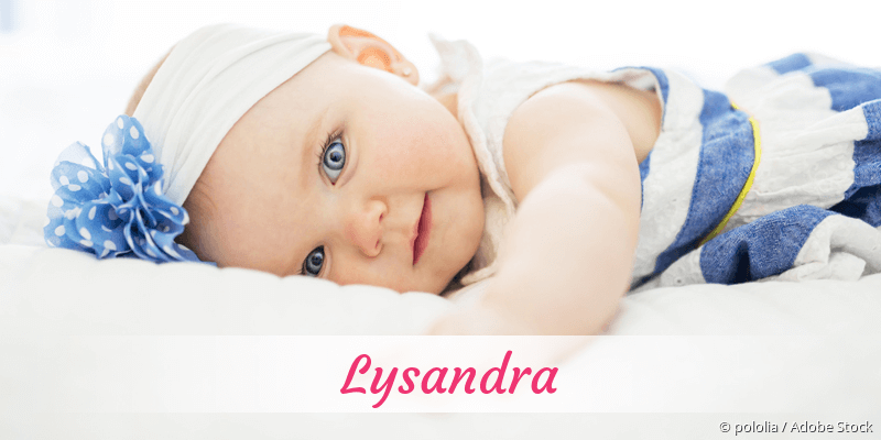 Name Lysandra als Bild