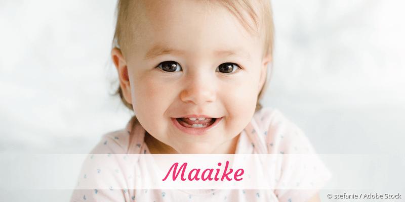 Name Maaike als Bild
