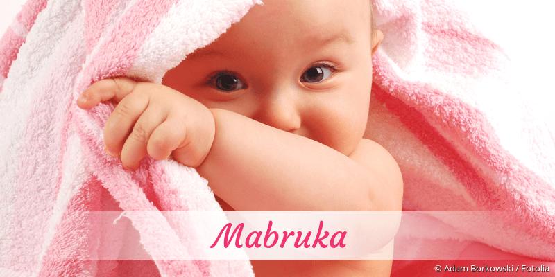 Name Mabruka als Bild