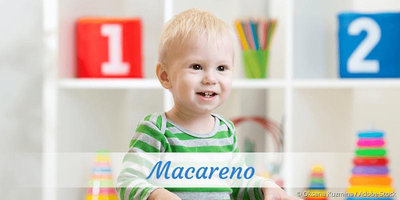 Name Macareno als Bild