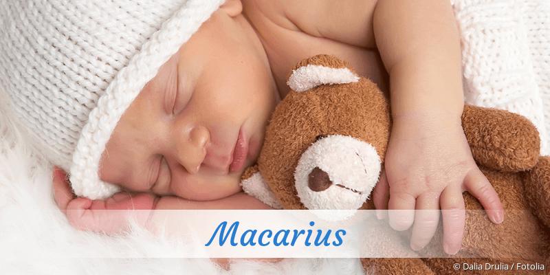 Name Macarius als Bild