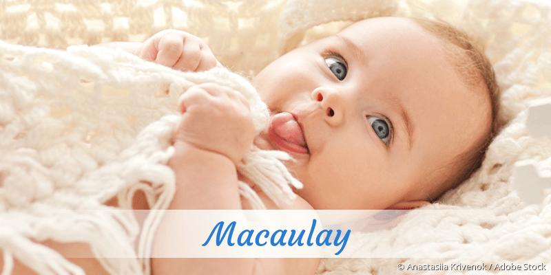 Name Macaulay als Bild