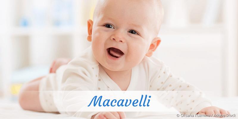 Name Macavelli als Bild