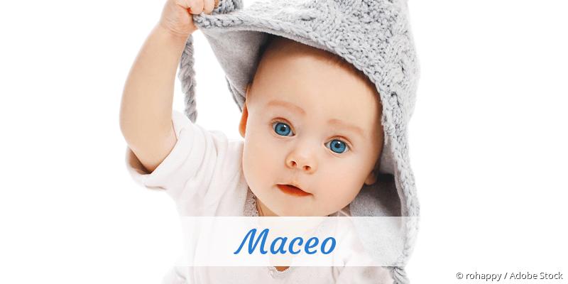 Name Maceo als Bild