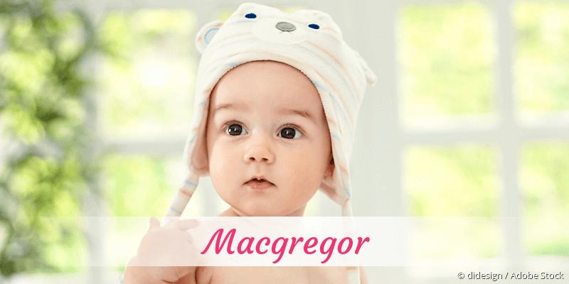 Name Macgregor als Bild