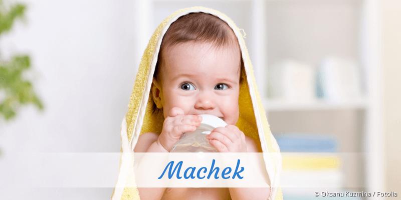 Name Machek als Bild