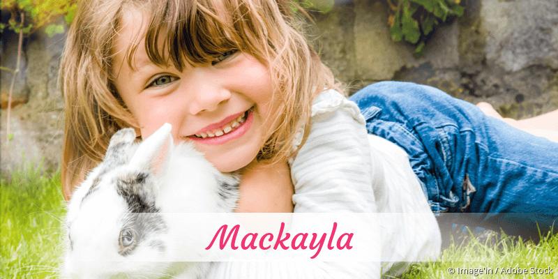 Name Mackayla als Bild